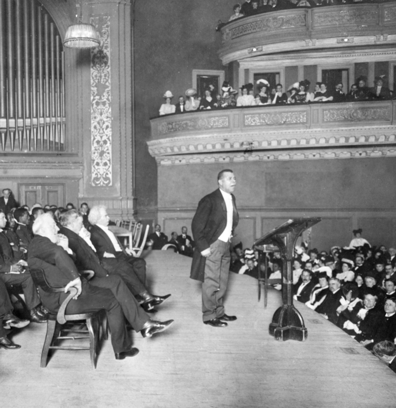 Washington at Carnegie Hall