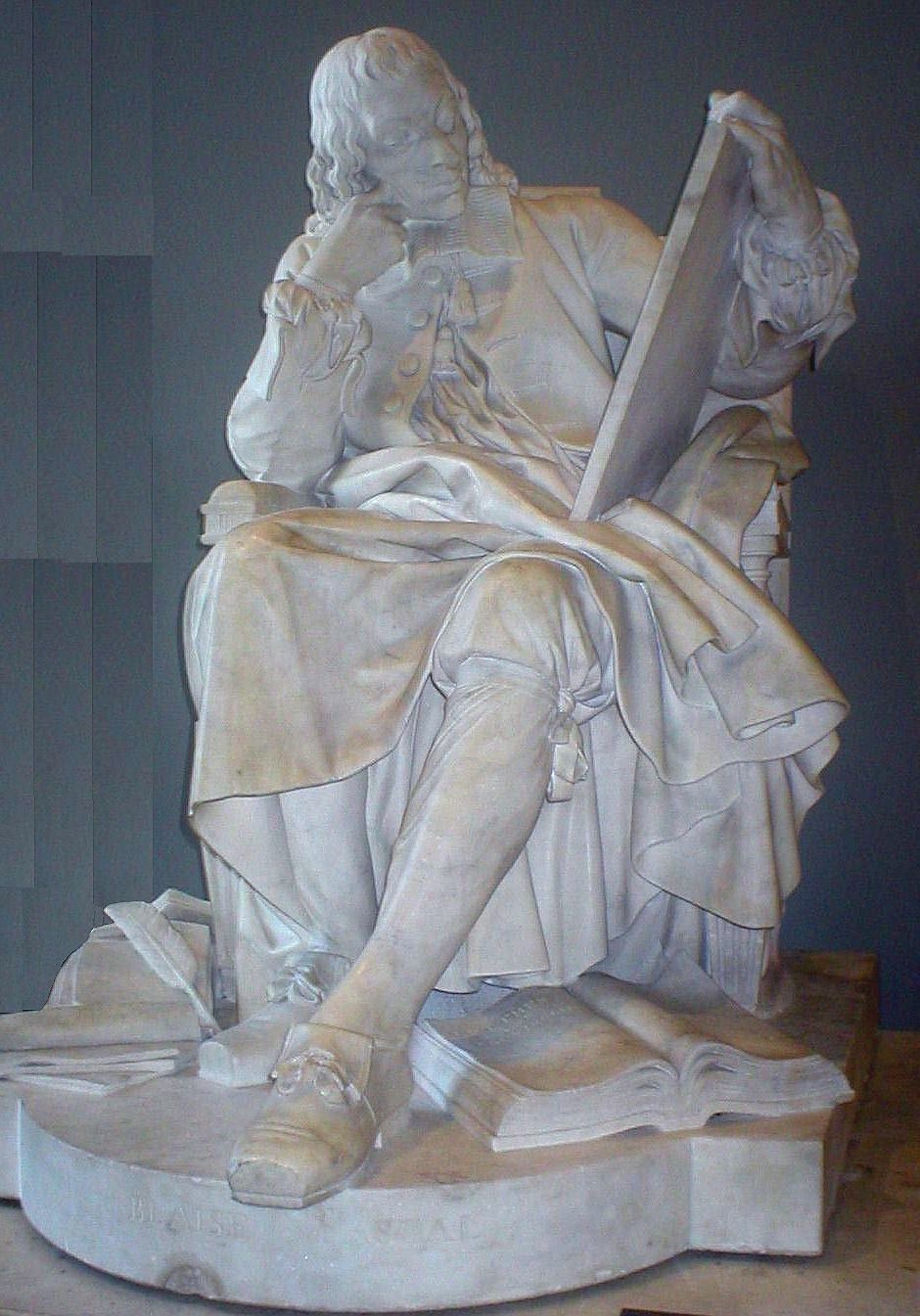 Statue of Blaise Pascal