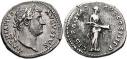 A Denarius of Hadrian