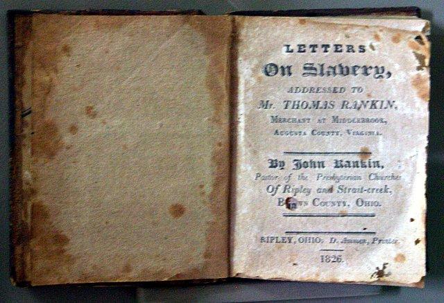 Rankin's Letters on Slavery