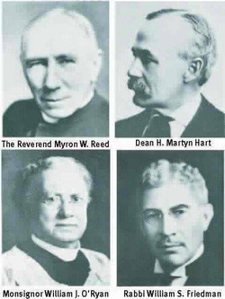 4 of the Founders of the United Way