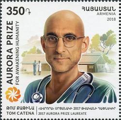 Tom Catena Stamp