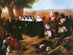The Landing of the Ursulines