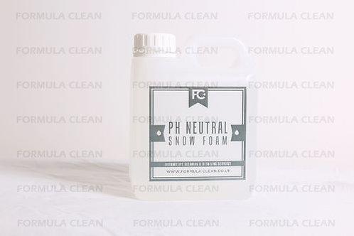 PH NEUTRAL SNOW FOAM 1 LITRE FORMULA CLEAN