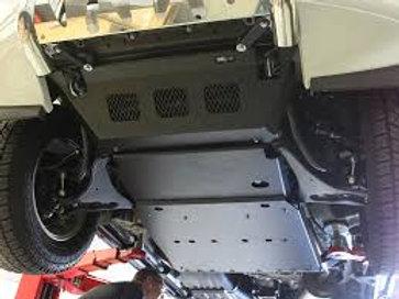 Mitsubishi Pajero BK LWB Sump & Gearbox Guard Kit - BGMP004