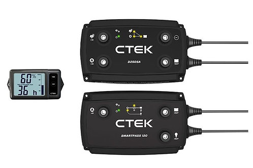 140A OFFROAD DUAL BATTERY CHARGER WITH MONITOR - CTEK - ECOM176