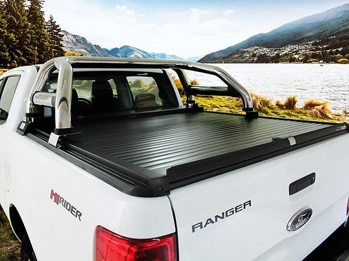 Ford Ranger T6 Double Cab (2012-Current) Load Bed Cover - by SECURI-LID -RTOP001