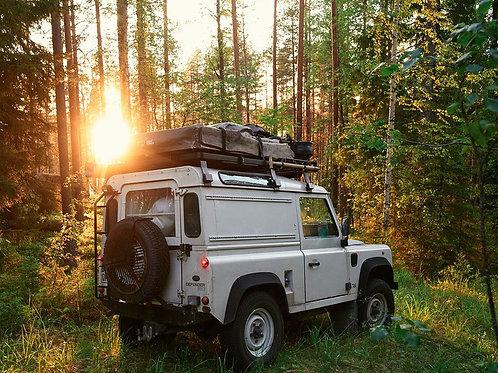 Land Rover Defender 90 Slimline II Roof Rack Kit (FULL) - KRLD007L