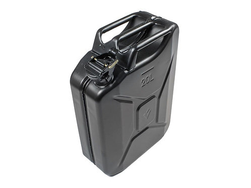 20L JERRY CAN - BLACK STEEL FINISH - JCFU001
