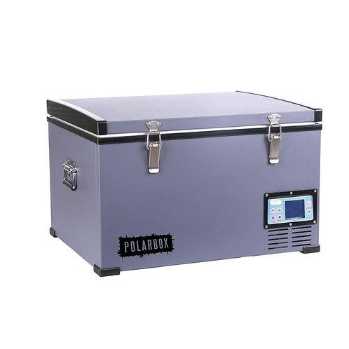 Polarbox 75L Grey Black Compressor Fridge 12v 24v AC/DC Carry Bag