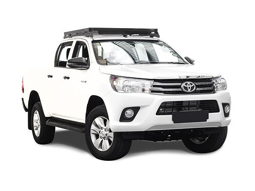HILUX REVO DC (2016-CURRENT) SLIMLINE II ROOF RACK KIT / LOW PROFILE -KRTH012T