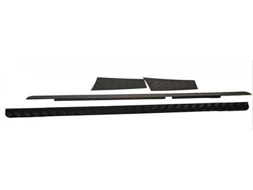 LAND ROVER DEFENDER 90 (1983-2016) SILL PROTECTOR / BLACK - BY FRONT RUNNBPLD013