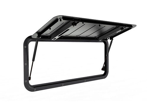 LAND ROVER DEFENDER (1983-2016) GULLWING WINDOW / ALUMINIUM - BY FRONT - GWLD009