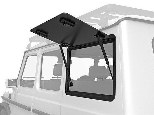 MERCEDES BENZ GELANDEWAGEN GULLWING WINDOW / LEFT HAND SIDE ALUMINIUM  - GWMG003