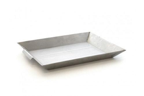 STAINLESS STEEL BBQ/ BRAAI PAN - KITC029