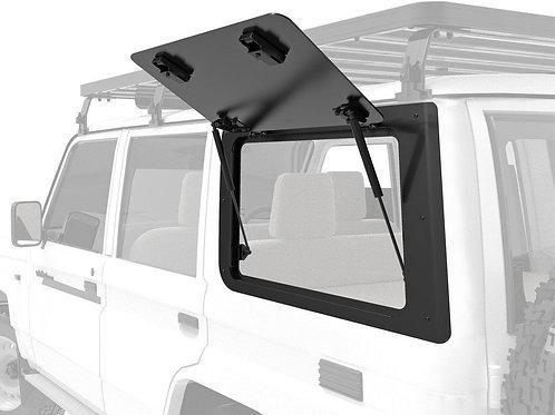 Toyota Land Cruiser 70 Gullwing Window / Left Hand Side Aluminium - GWTL003