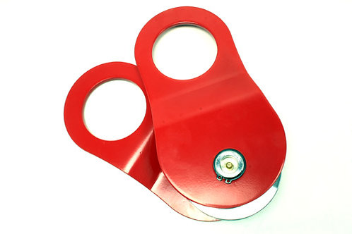 SNATCH BLOCK WITH GREASE FITTING - RED - TF3305