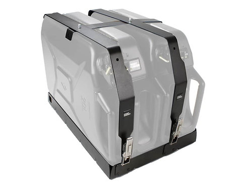 DOUBLE JERRY CAN HOLDER - BY FRONT RUNNER - JCHO014
