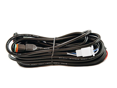 SINGLE LED WIRING HARNESS WITH DT PLUG - ECOM204