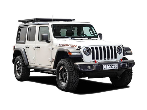 Jeep Wrangler JL 4 Door (2017-Current) 1/2 Extreme Roof Rack Kit - KRJW023T