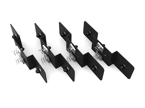 RACK ADAPTOR PLATES FOR THULE SLOTTED BARS RRAC017