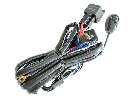 Double LED Wiring Harness - ECOM078