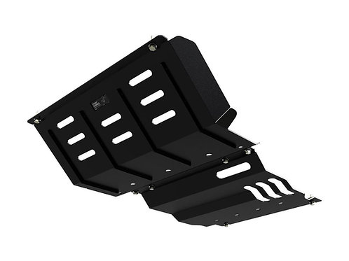 MITSUBISHI PAJERO SPORT (QE SERIES) SUMP AND GEARBOX GUARD - BY FRONT RUNNER