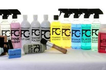 FORMULA CLEAN COMPLETE PRODUCT RANGE