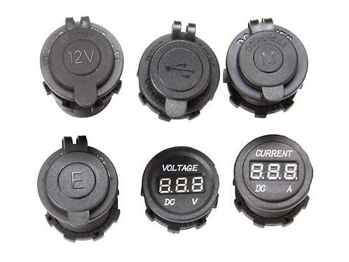 GAUGE AND SOCKET KIT / 6 UNITS - BY FRONT RUNNER - ECOM205
