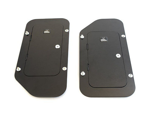 TOYOTA HILUX XTRA CAB (2012) DOUBLE REAR SEAT VEHICLE SAFE - BY FRONT -  SAFE007