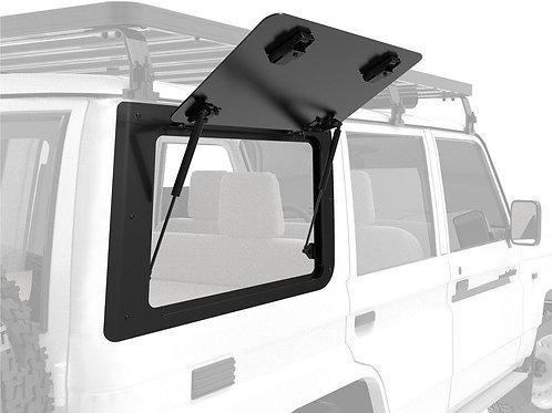 FR Toyota Land Cruiser 70 Gullwing Window / Right Hand Side Aluminium - GWTL004