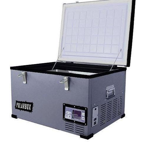 Polarbox 35L Grey Black Compressor Fridge 12v 24v AC/DC With Carry Bag