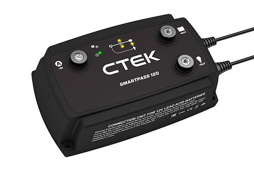 SMARTPASS 120 (12V) DC-DC POWER MANAGEMENT SOLUTION - BY CTEK - ECOM174