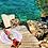 Thumbnail: Geo Print Round Beach Towel