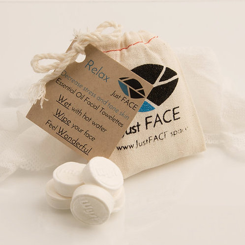 Relax Facial Towelettes