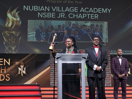 NVA STEM wins Pre-College Initiative Program of the Year with National Society of Black Engineer