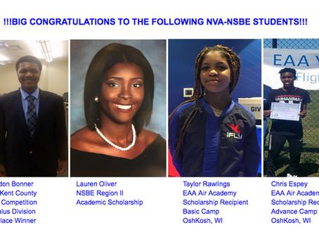 NVA STEM Students Rock!