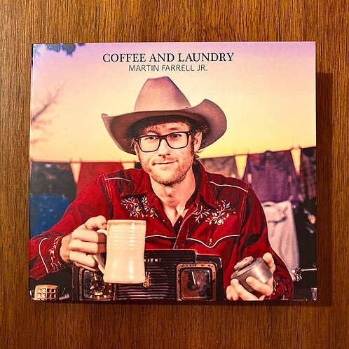 """Coffee and Laundry"" CD by Martin Farrell Jr."