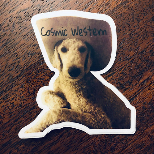 """Roy """"Cosmic Western"""" Sticker"""