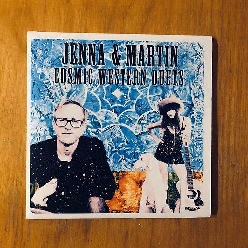 """""""Cosmic Western Duets"""" CD"""