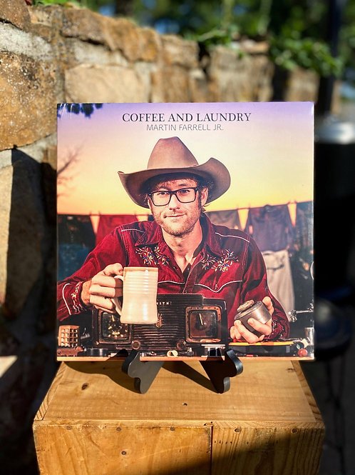 """""""Coffee and Laundry"""" Vinyl Record by Martin Farrell Jr."""