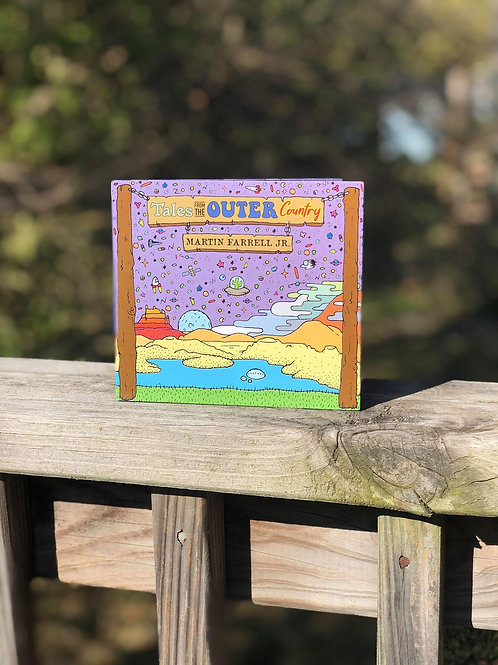"""Tales From the Outer Country"" CD by Martin Farrell Jr."