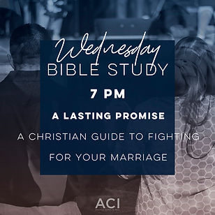 ACI Wednesday Night Bible Study