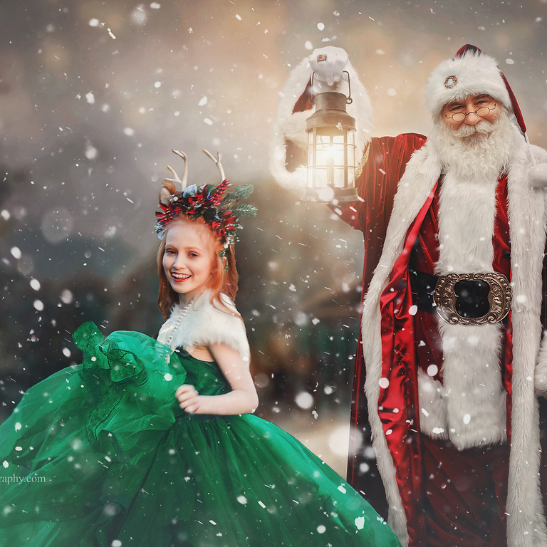 A COVID CHRISTMAS-MASKED SANTA SESSIONs