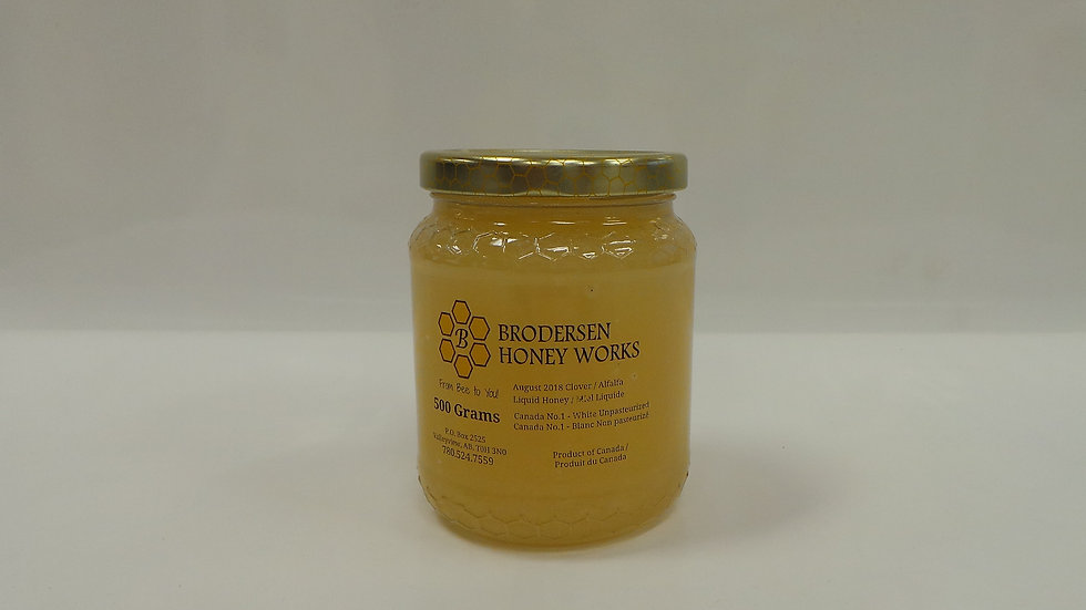 Liquid Honey / Miel Liquide (500 Grams)