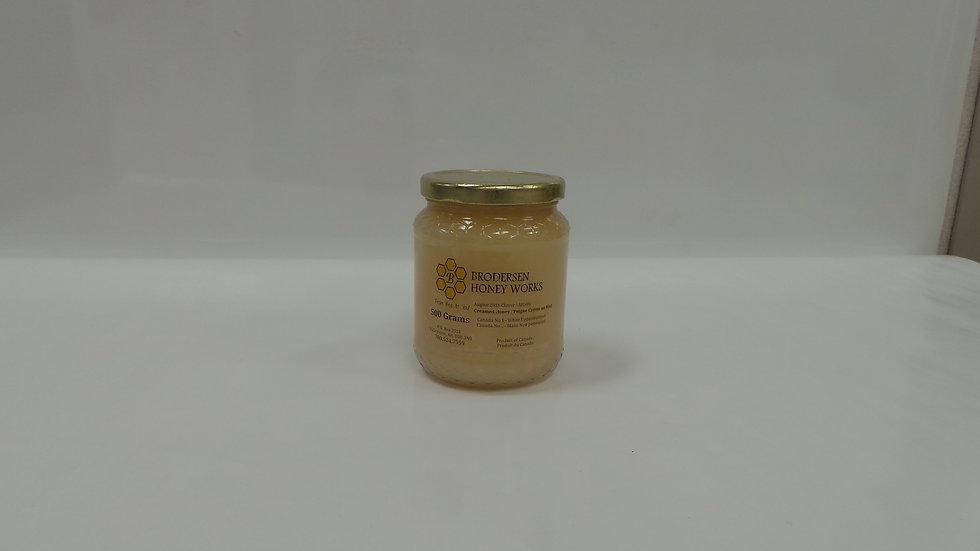 Creamed Honey / Piegne Creme au Miel (500 Grams)