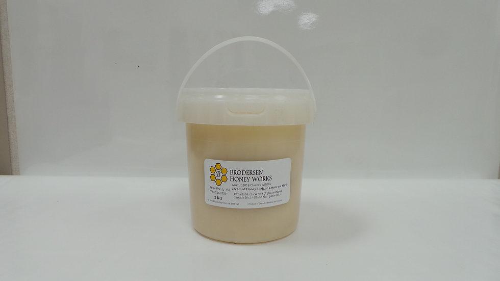 Creamed Honey / Piegne Creme au Miel ( 3 kg.)