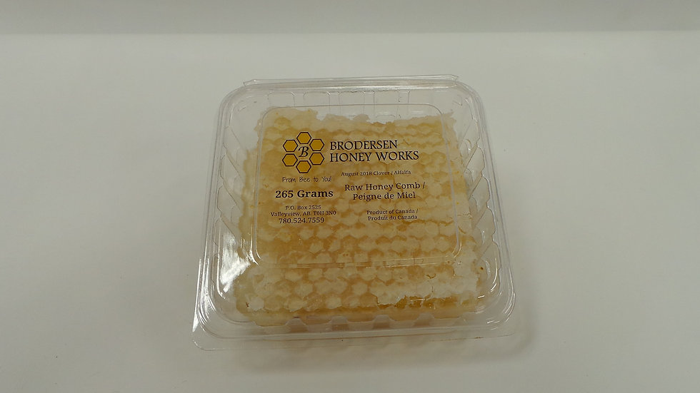 Raw Honey Comb / Piegne de Miel (265 Grams)