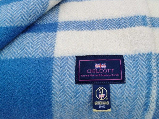 Proud to use British Wool