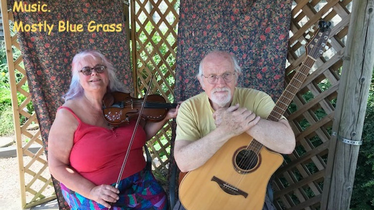 Event for blue grass and vintage acoustic music